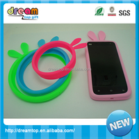 Newest ring bumper rabbit universal multi-function cell phone covers