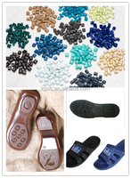 colorful pvc granule for slipper shoe sole