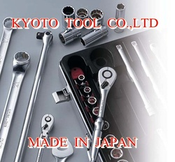"3/4""sq. SOCKET WRENCH TOOL SET, by KYOTO TOOL (13pcs.)"