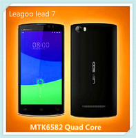 MTK6582 Lead7 Mobile Phone 1.3GHz Quad Core 5.0 Inch Screen Android 4.4 3G Smart Phone LEAGOO LEAD 7 Cellular Phone