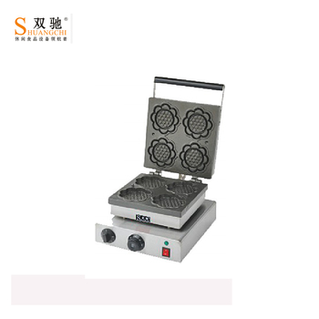 2018 SC-K4 commercial stainless steel electric cake making machine automatic cake making machine waffle maker for wholesale