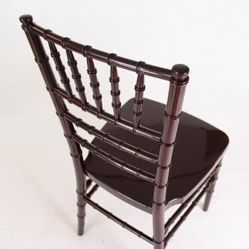 Very Cheap Strong Metal Bone Acrylic Resin Chiavari Hotel Chair