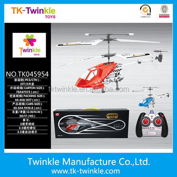 Kid toy 2 channel rc helicopter metal remote control helicopter