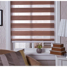 factory price new design horizontal high quality blackout big size Rainbow Window Blinds,Zebra blinds with ball chain
