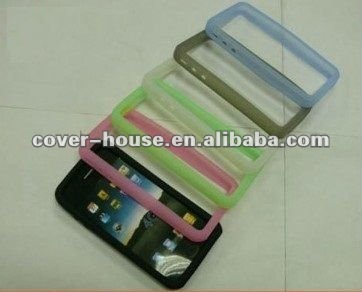 Bumper Case Cover Silicone TPU For iPhone 4 4S