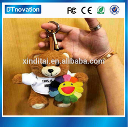 powerbank cartoon with Keychain Bear Portable Charger