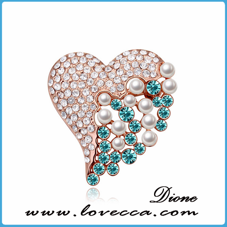 Top quality shine fancy brooch,large rhinestone brooch
