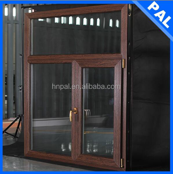high end villa used white color outward casement window with crank