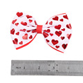 2018 Hot Sale Hearts Hair Bows For Valentine Day