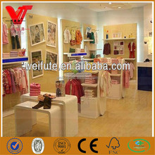 clothes shop decoration rack fittings display equipment