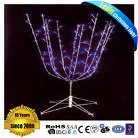 Thanksgiving Day colorful led christmas cone tree light With high quality outdoor decoration