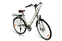 "middle motor 28"" big tire city electric bicycle manufacturer"