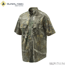 Outdoor Camo Sturdy Breathable Short Sleeve Hunting T Shirt