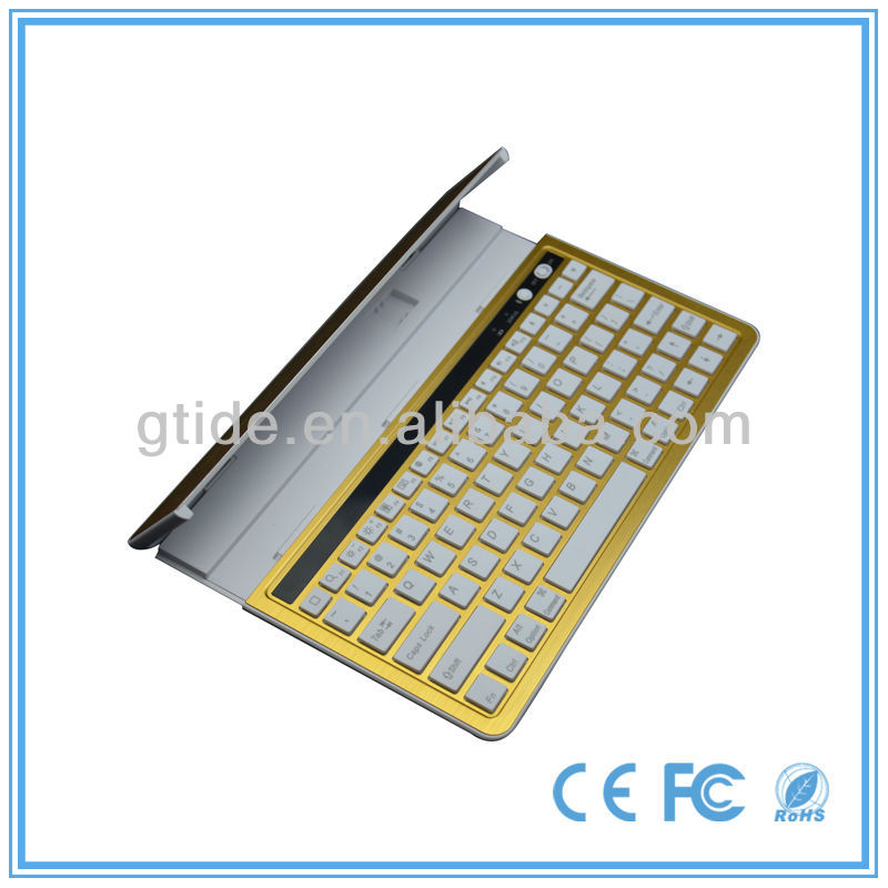 2013 hot selling aluminum galaxy s3 bluetooth keyboard case