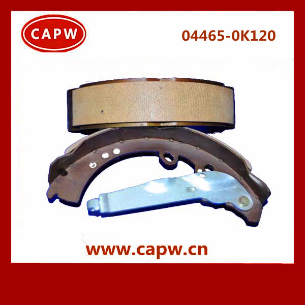 high quality toyota brake shoe O E M NO. 04495-0k120 for hilux vigo pickup car spare parts