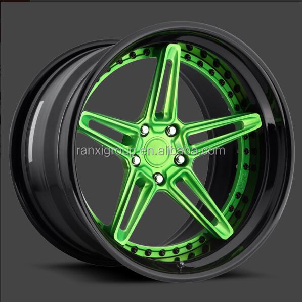 Machined from 6061-T6 forged aluminum wheel/Forged wheels