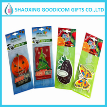 Paper Hanging Shape Custom Car Air Freshener
