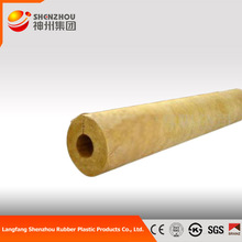 sound absorbing rock mineral wool Dia 25mm rock wool tube