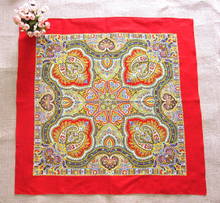 Vantage bandana handkerchief/ Fashion exquisite Chinese style cotton bandana as gift handkerchief