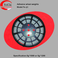 Fe adhesive wheel balance weights on roll factory wheel weights