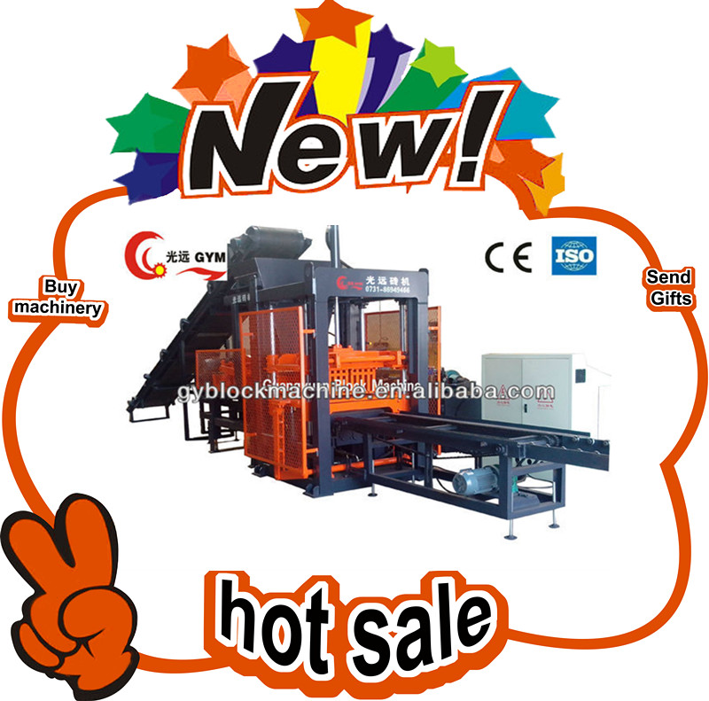 Hot!Hot! fully automatic building construction material/concrete block making machine price in india
