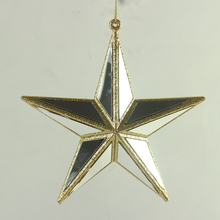 wholesale christmas ornament Xmas tree jewel star ornament for home hanging decoration