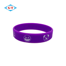 Customized cheap china manufacturers print silicone wristband, rubber bracelet