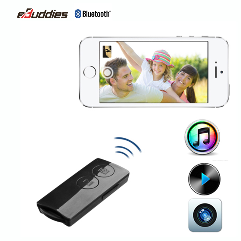 Smart Phone Bluetooth Remote Shutter with music control + Volume Control+ SIRI function HS