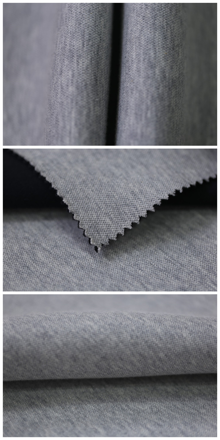 Wholesale Fashion Fabric Textile Polyester Cotton Scuba Clothing Material
