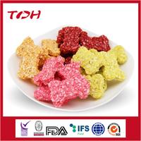 Colorful Bone Shape Rawhide Grain Bone wholesale bulk dog food