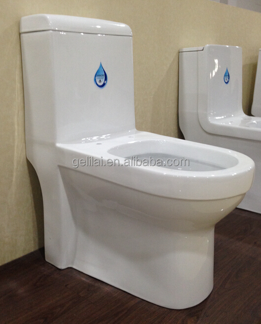 Color Ceramic Washdown One Piece Toilet For Sanitary Ware Bathroom