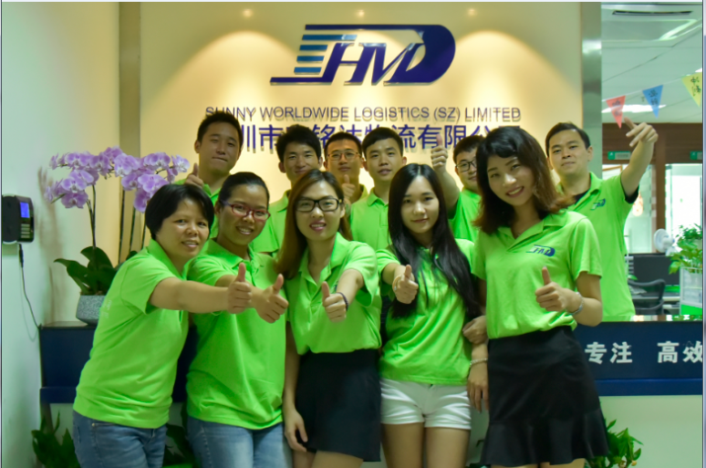 China courier freight service express shipping from Shenzhen to Denmark