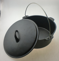 FDA certification camping cast iron dutch oven