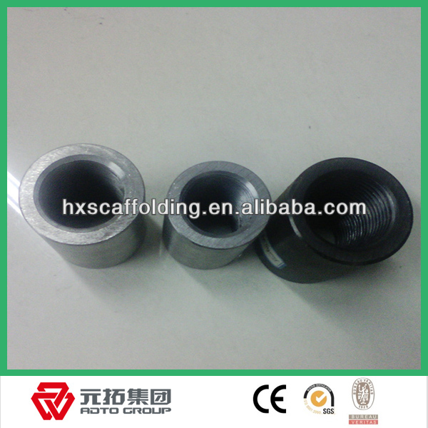 tapered threaded splicing reinforcing steel bar coupler
