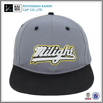 customize grey snapback hats high quality,3d embroidery snapback hats wholesale, hot sale cap and hat