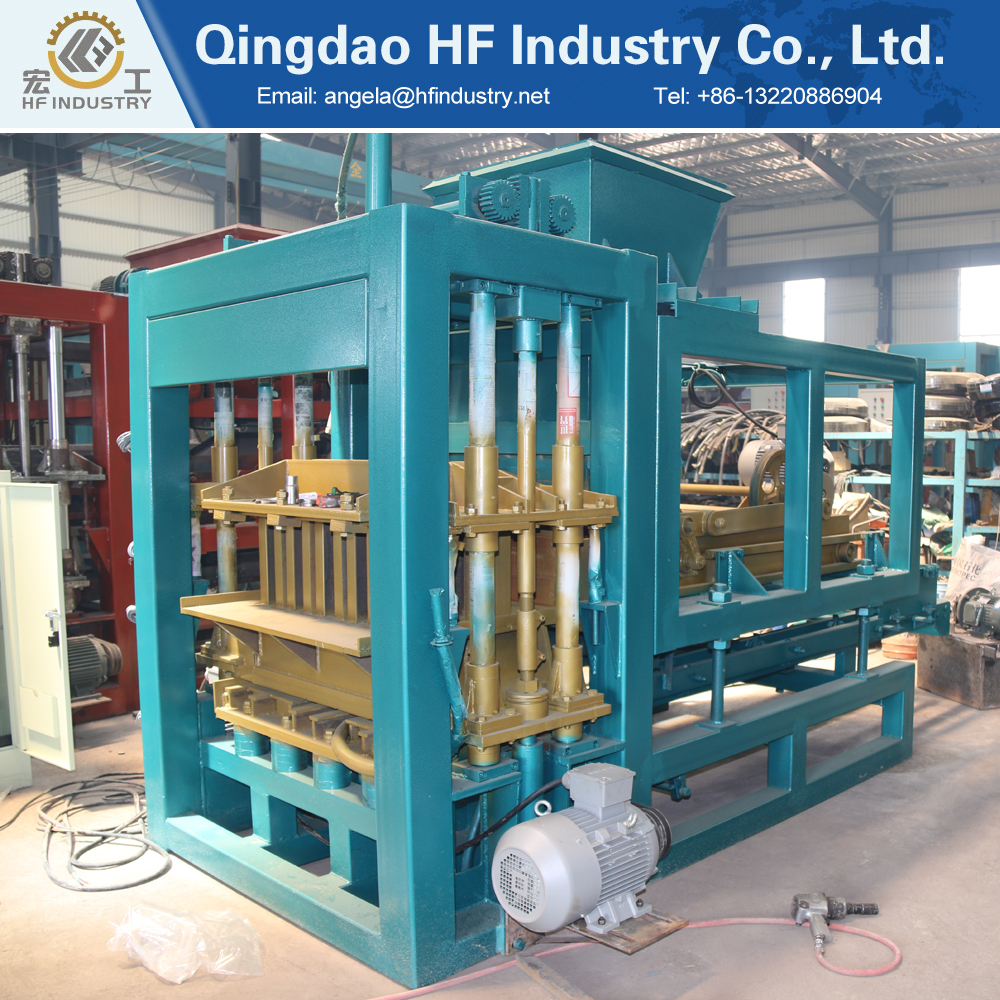 QT4-16 Building material machinery wholesale german concrete block making machine with ideal models