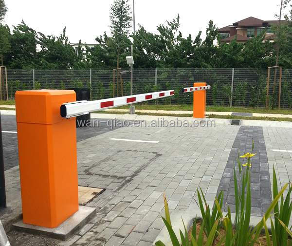 CE Approved 220v 50hz 40w Automatic barriers prices electric single pole gate toll gate system