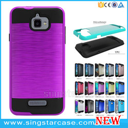 Wholesale PC TPU Metallic Slim Armor Case For Coolpad Catalyst 3622A/3623A