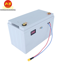 HHS high power 1000times LiFePO4 24V 100AH AGV vehicle battery