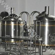 500L midsize industrial/commecial used beer making equipment