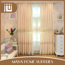 New arrival wholesale cheap price embroidery design window curtain covering