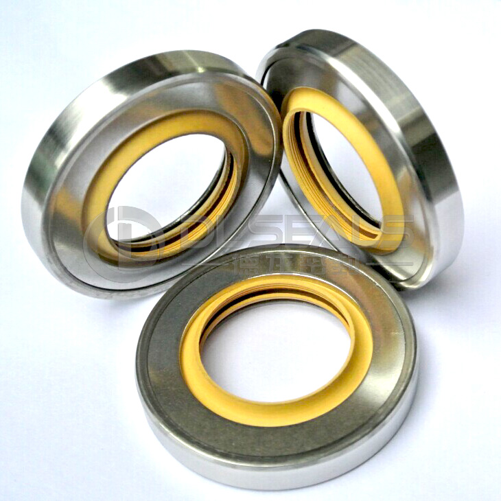 PTFE Rotary Shaft Seals Oil Pressing Lip Seals