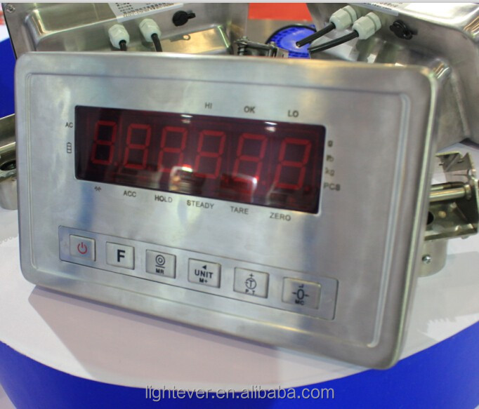 waterproof digital weighing indicator with IP68 certifacition