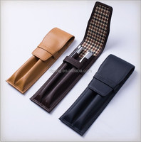 Wholesale custom display leather pen case for pens ,pen cases holder
