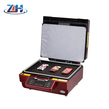 Hot 3D sublimation vaccum printing machine for case