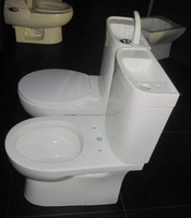 flush toilet tank for basin use , Water Saving Water closet, Water Closet Bath Wash Basin