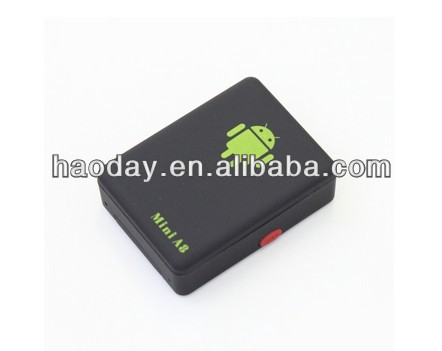 smallest gps tracker mini A8 Android app tracker real time tracking Smart Anti-theft gsm gprs tracker