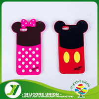 Hot selling cute shaped wholesale silicone phone case