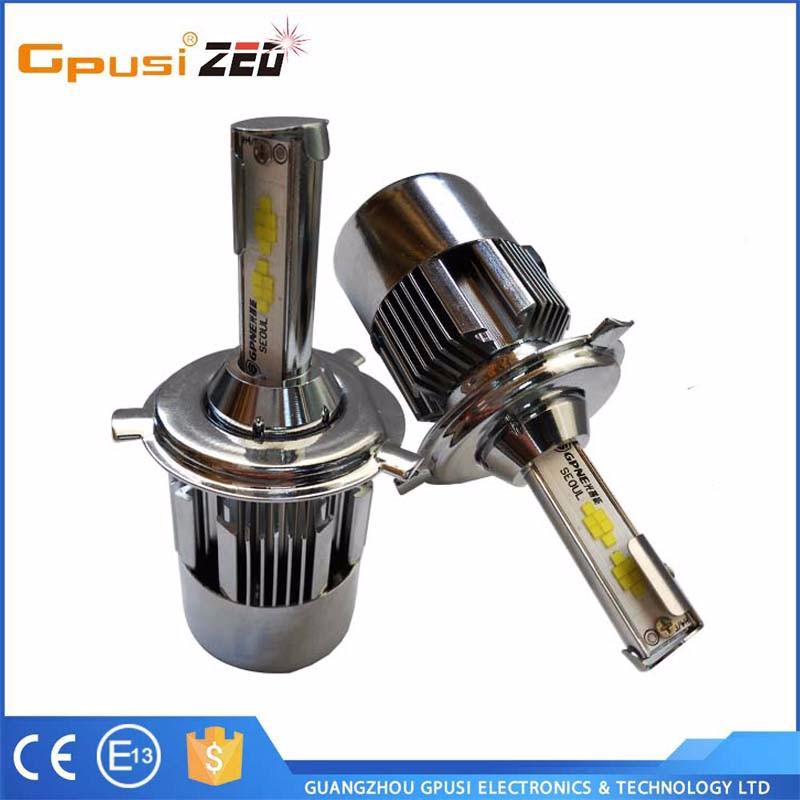 Wholesale 3800LM 36W C8 Car LED headlight H4 For Audi A3 A4 A5 A6 S Line Q5 Q7 B8 led car bulb