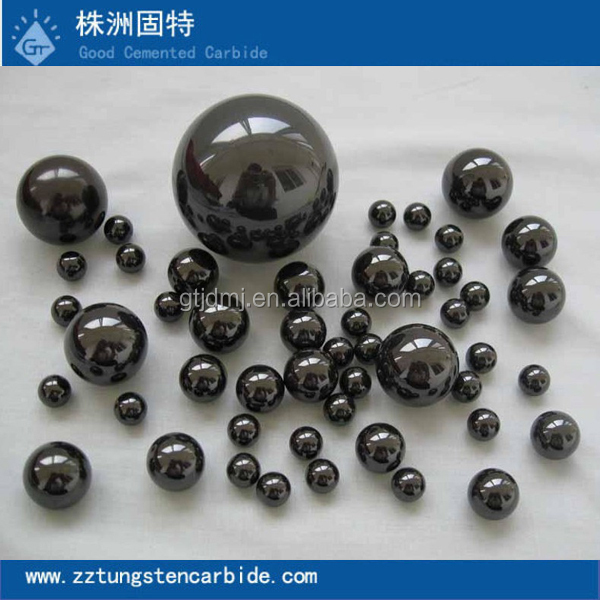 China Manufacturer Directly Supply Various Dimensions Tungsten Carbide/Ceramic Steel Balls